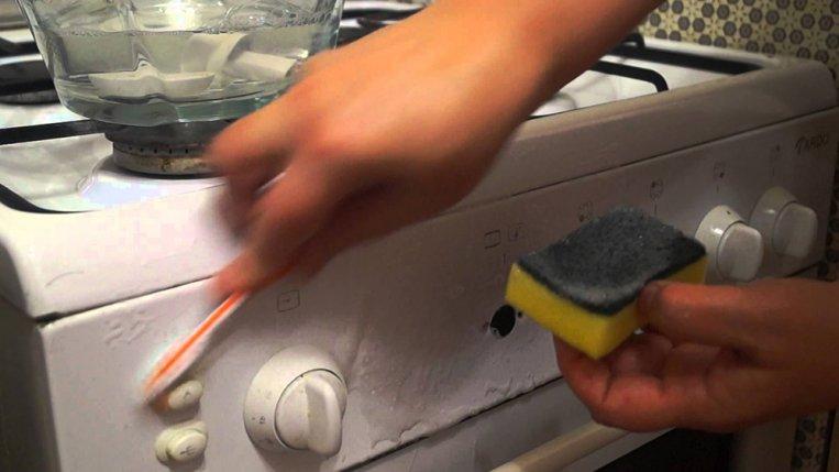 Чем отмыть решетки от газовой