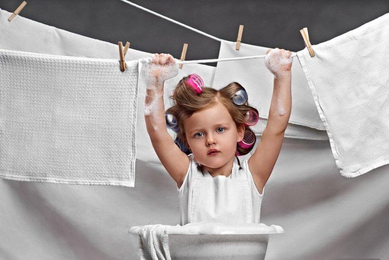 Как отбелить бельё в домашних